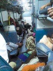 treno classe senza posto