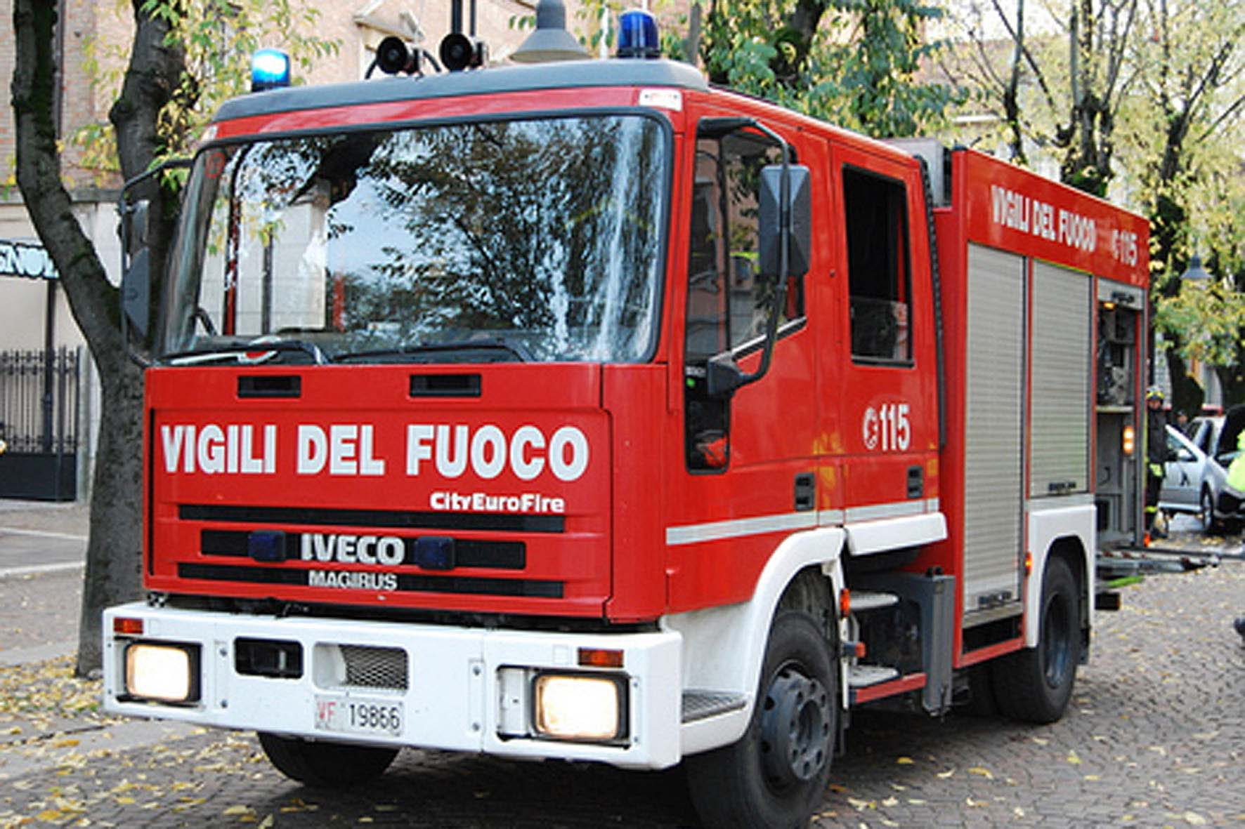 Incendio in un'abitazione di Fraconalto Monteleco