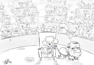 vignetta satira