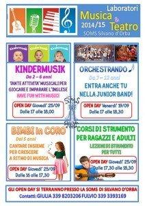 Musica e Teatro 2014-15