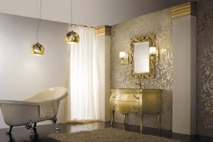 luxurous-artistic-bathroom-design-ideas-with-beautiful-neoclassic-gold-washbasin-cabinet-and-amazing-classic-wall-mirror