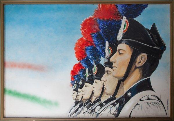 Celebrazione del 202° annuale di fondazione dell'Arma dei Carabinieri
