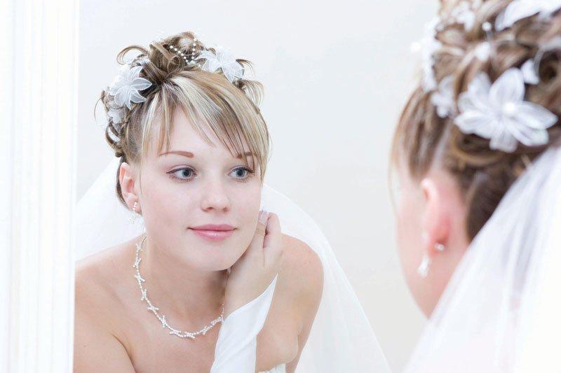 Acconciature sposa per slanciare