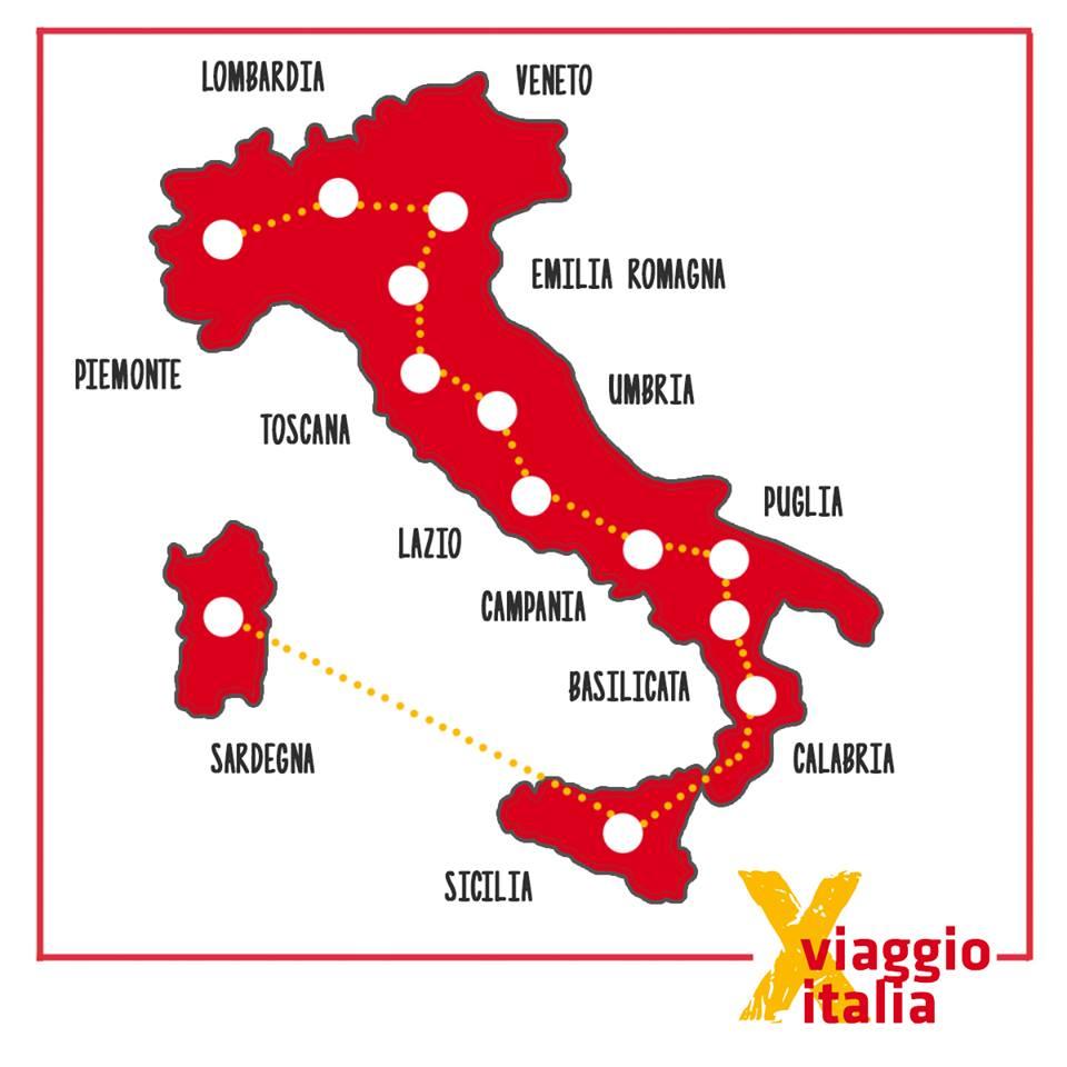 Viaggio Italia_Mappa