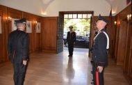 Il Comandante della Legione Carabinieri Piemonte e Valle d'Aosta in visita ad Alessandria