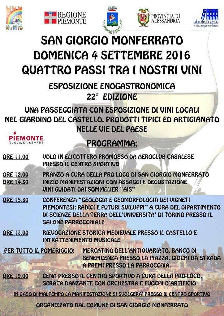 San Giorgio Monferrato Locandina 2016