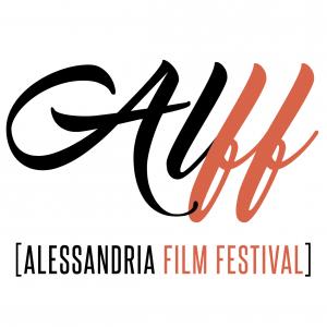 Il logo dell'Alessandria Film Festival, realizzato da Tomaso Serloreti (http://www.tomasoserloreti.com/).