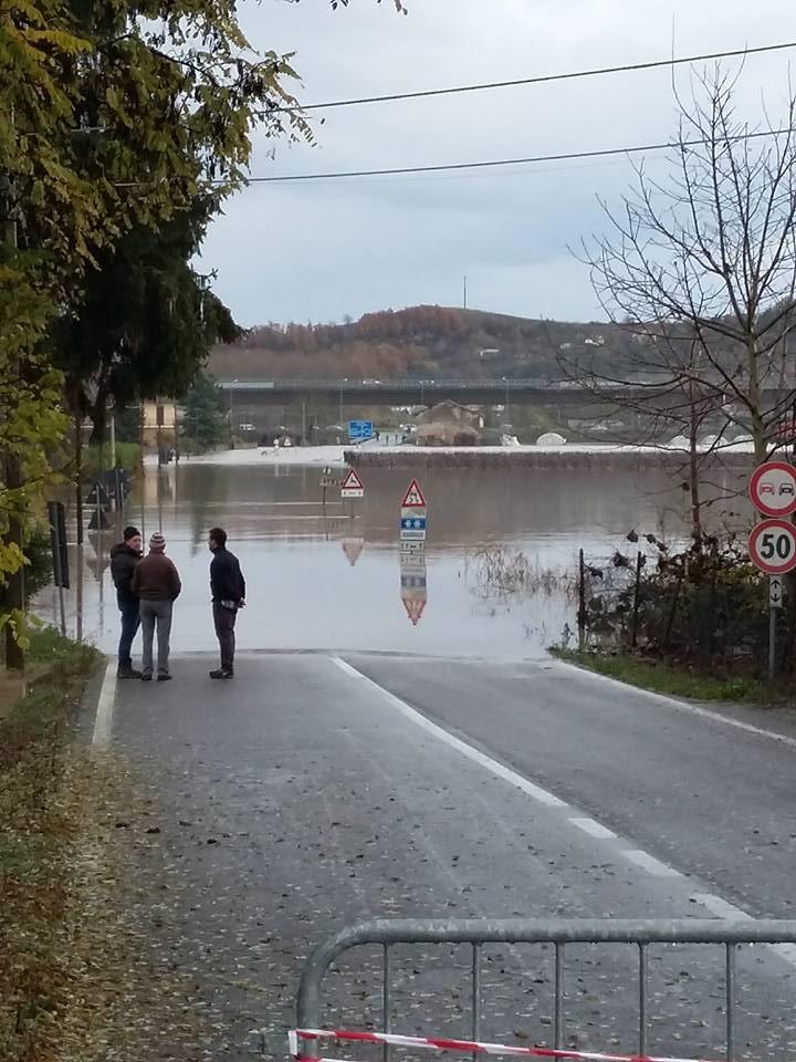 Esondazione fiume Bormida