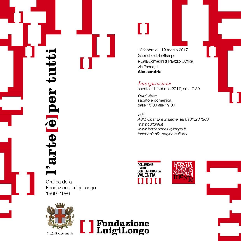 Mostra Fondazione Longo