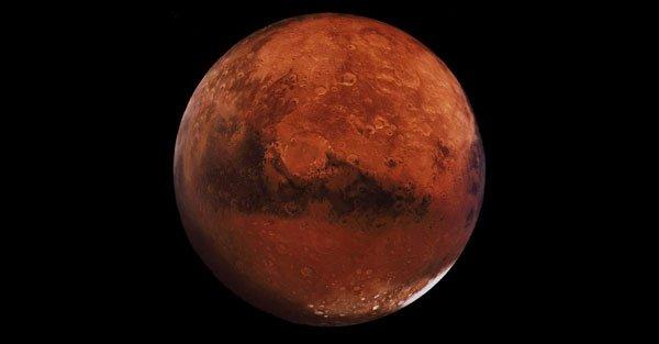 Marte vicino alla terra